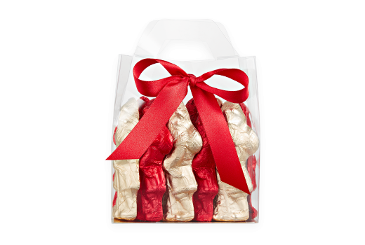 10pc-Dark-Milk-Santa-Tote-Gold-Red