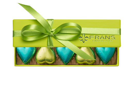 10pc-solid-foiled-hearts-green-bright-green-FY20