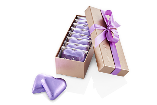 8pc-dark-caramel-hearts-champagne-lilac