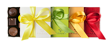 Assorted Ribbon & Box Colors